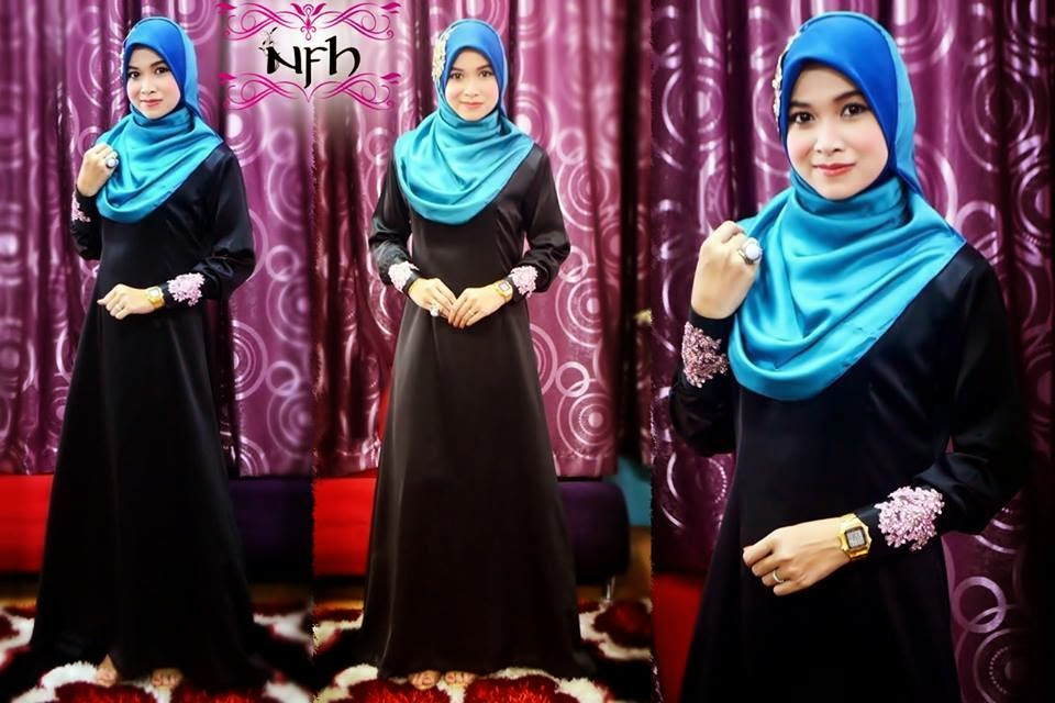 Jubah stain lace