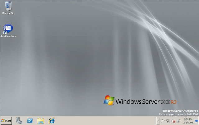 server 2008 desktop