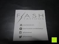 Flash: Original FLASH TATTOOS - Die beliebten Gold Tattoos der Stars aus USA - Temporäre Tattoos (Dakota)