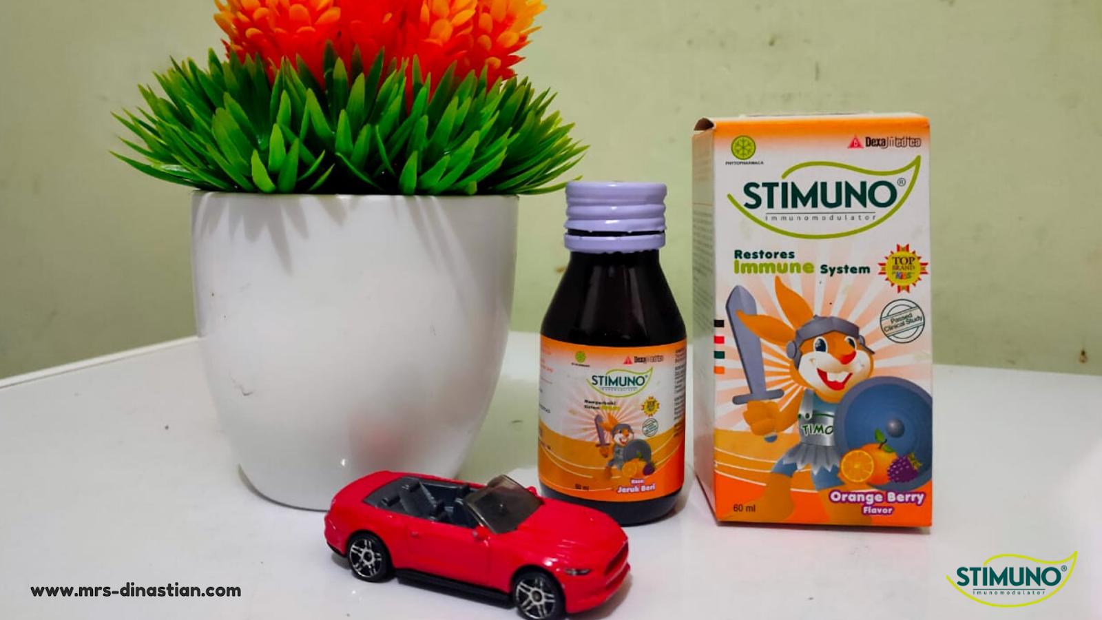 Jaga Imun Tubuh Anak dengan Stimuno