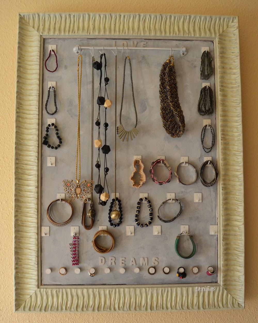 Taller Entrepiezas  Ideas para colgar tus collares y pendientes b5c25b0e2052
