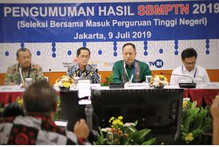 penggumuman SBMPTN 2019