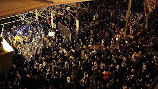 طهران..متظاهرون يطالبون بإسقاط النظام الإيراني