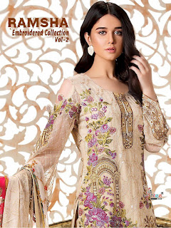 Single Shree Fab  Wedding Special Pakistani Suits Collection
