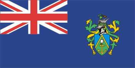 Bandeira das Ilhas Pitcairn