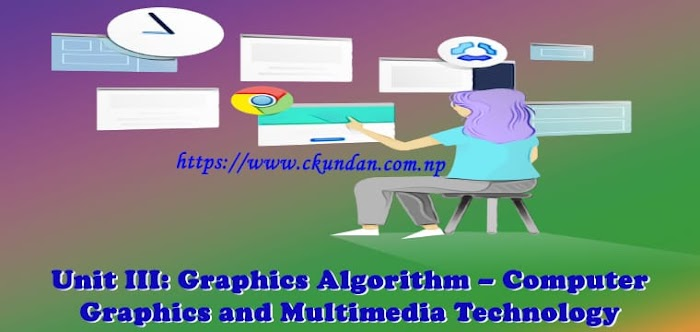 Unit III: Graphics Algorithm – Computer Graphics and Multimedia Technology