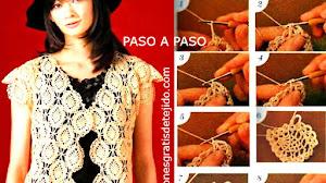 Chaleco tejido a Crochet 👍🏼 Paso a paso