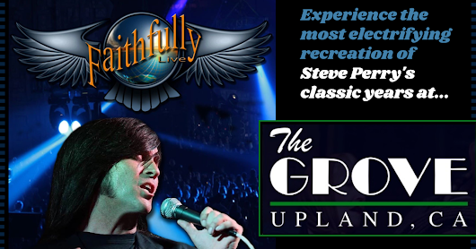 November 24 - Faithfully Live featuring Jeff Salado hits So-Cal to rock The Grove!