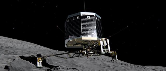 Meteorito y espacio exterior