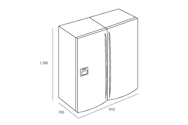 Tủ lạnh Teka NF3-650 X