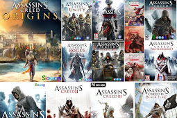 Download Games Assassins Creed Collection All Series Complete