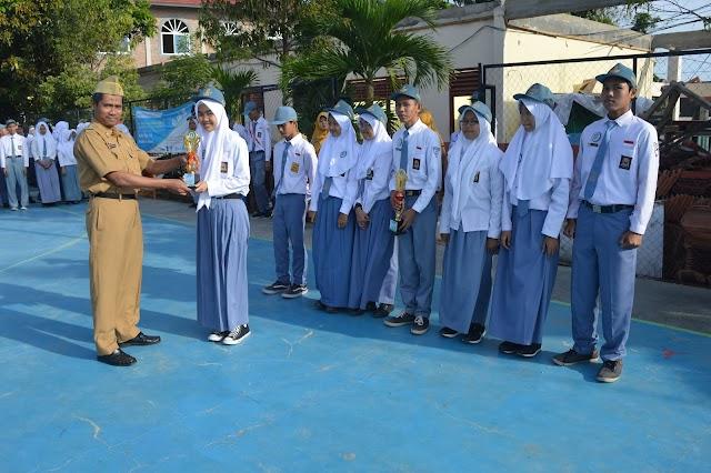 Tim Roket Air SMAN 14 Bandar Lampung Juara