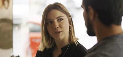Dalila (Alice Wegmann) tentará seduzir Jamil (Renato Góes) nos próximos capítulos