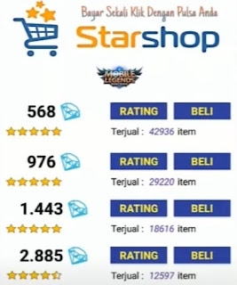 Download Star Shop APK Mobile Legends