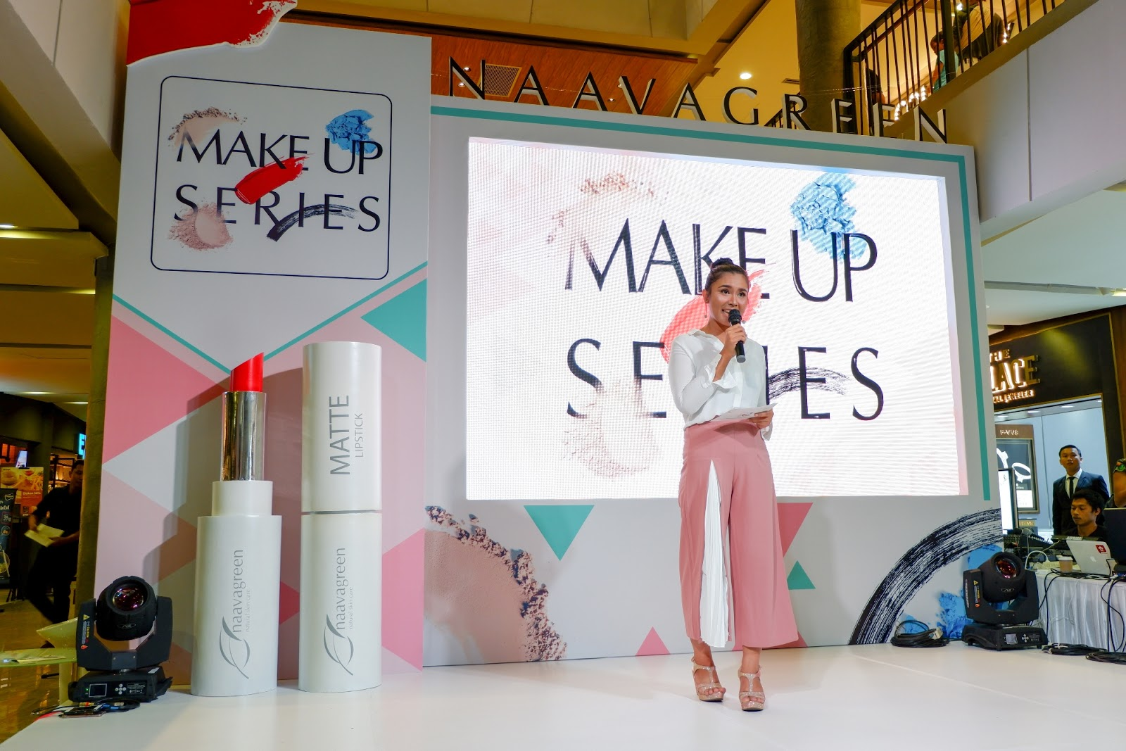 Launching Naavagreen Simple Beauty Make-Up Series