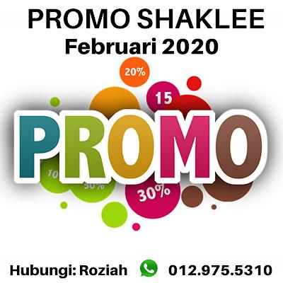 Promosi Shaklee Februari 2020