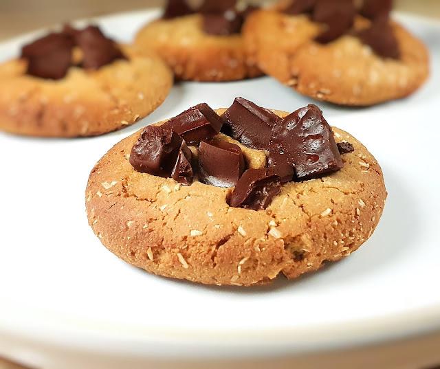 cookies sans gluten sans oeuf à la farine de lupin