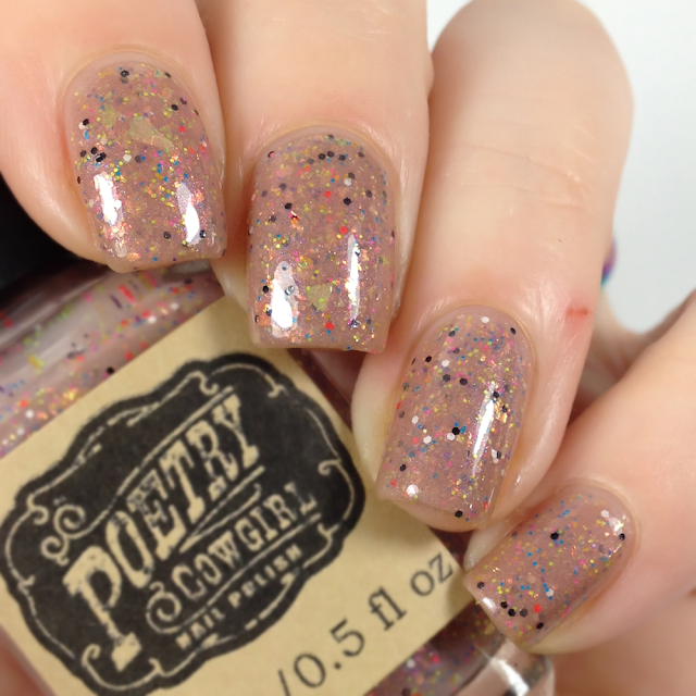 Poetry Cowgirl Nail Polish-Rainbow Butterfly Unicorn Kitten