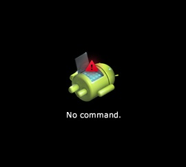 android system recovery no command