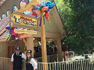 Reopening Toontown Disneyland Railroad Station