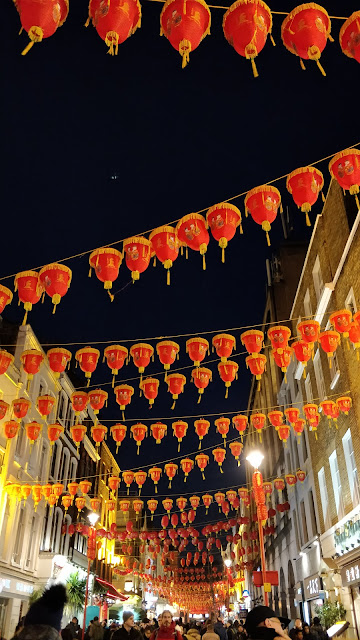 Chinese Lanterns in Chinatown London