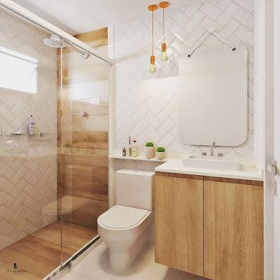 Gambar Kamar Mandi Minimalis Ruangan Kecil | Desain Rumah Cantik
