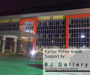 Project Kantor Polres Gresik Jl. Wahidin Sudirohusodo