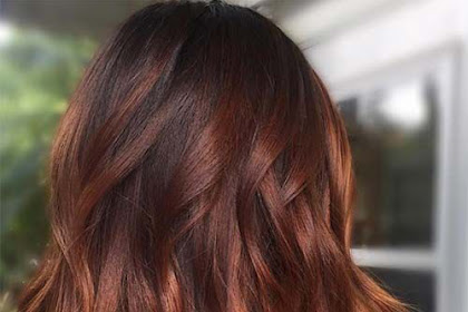 Brown To Red Ombre Hair Color