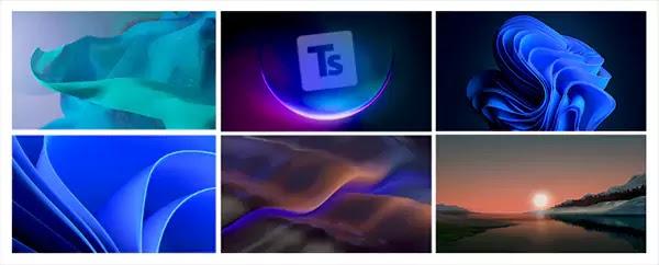 خلفيات ويندوز 11 جودة عالية