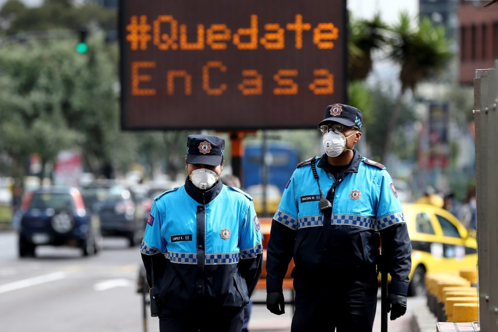 Ecuador ya tiene 111 casos de coronavirus COVID-19