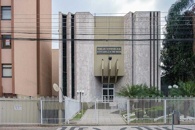 Igreja Evangélica Assembléia de Deus, na Cândido de Abreu