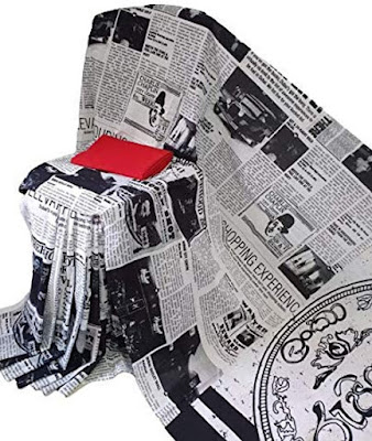 newspaper saree