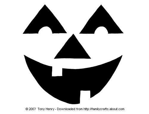 pumpkin mouth template - download easy free halloween pumpkin carving patterns