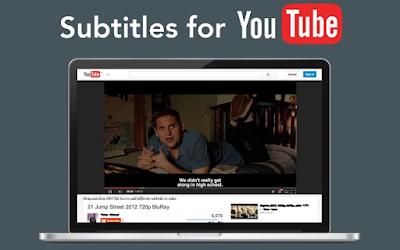إضافة للمتصفح تجعلك تترجم أفلام اليوتوب إلى أي لغة تريدها   Extensions  navigateur pour traduire des films YouTube dans une langue que vous voulez