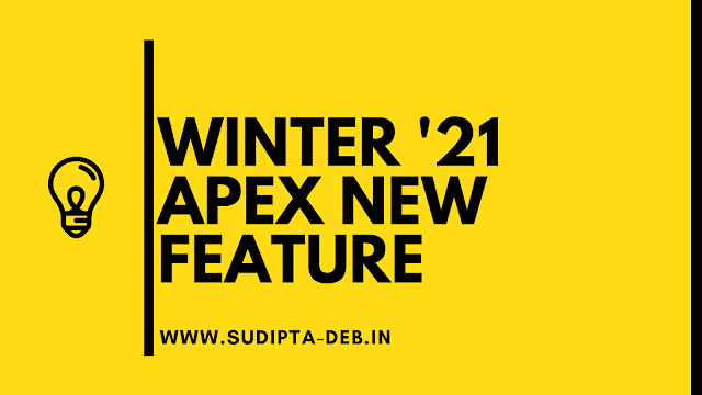 Winter '21 Apex New Feature