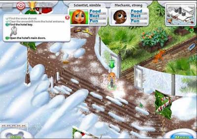 偉大旅程:聖誕節版(Great Adventures),很有氣氛的益智解謎遊戲!