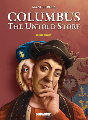"""COLUMBUS The untold story"" book cover"