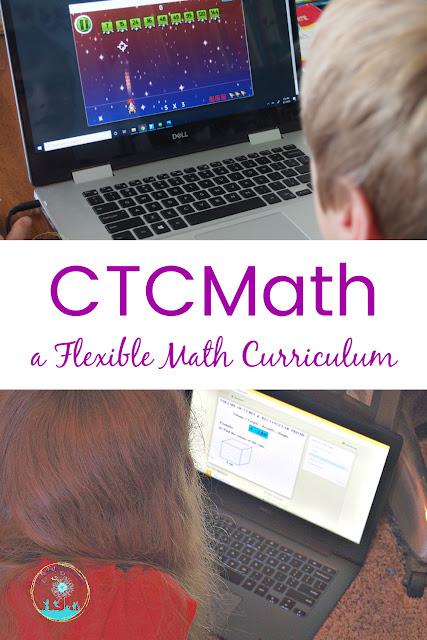 CTCMath allows for Flexibility in Homeschool Math