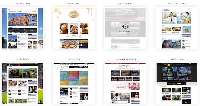 tema wordpress untuk berita, magazine wordpress theme