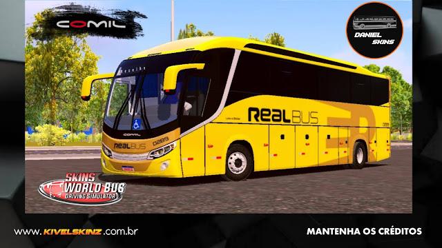 COMIL 1200 4X2 - VIAÇÃO EXPRESSO REAL BUS