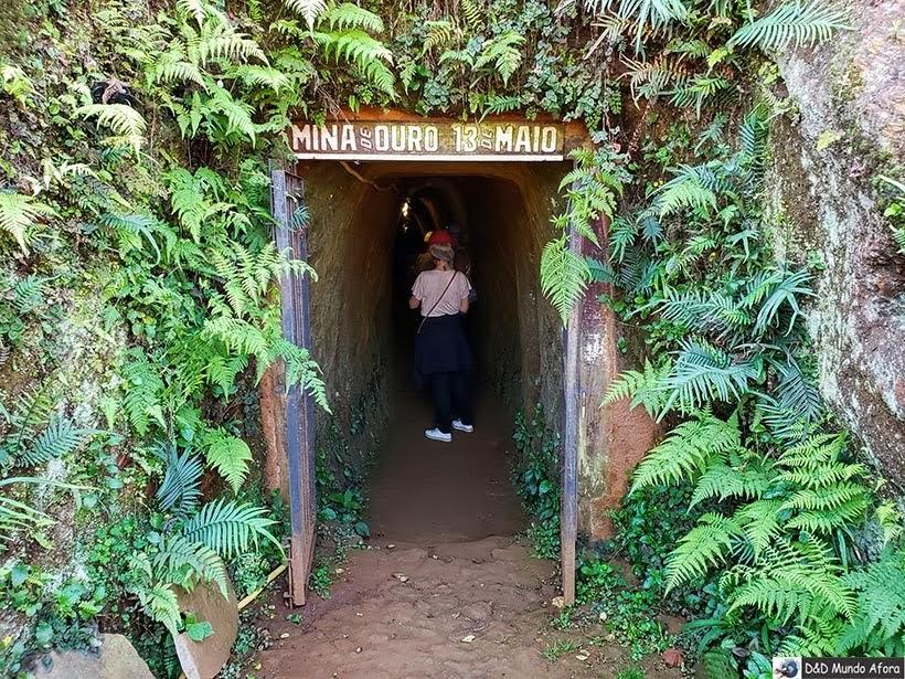 Mina 13 de Maio - Passeio de jardineira em Ouro Preto