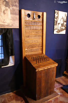 Interno del Museo della Tortura di Grazzano