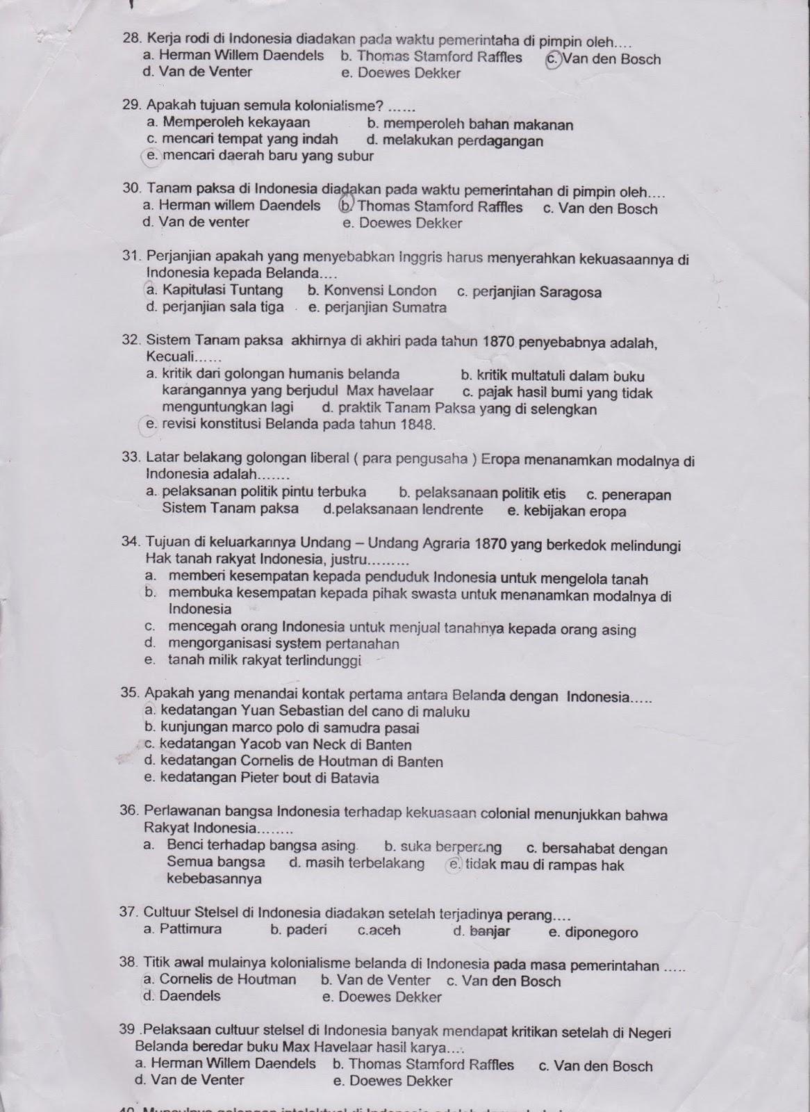 80 Contoh Soal Ujian Ips Kelas 6 Semester 1 Ips