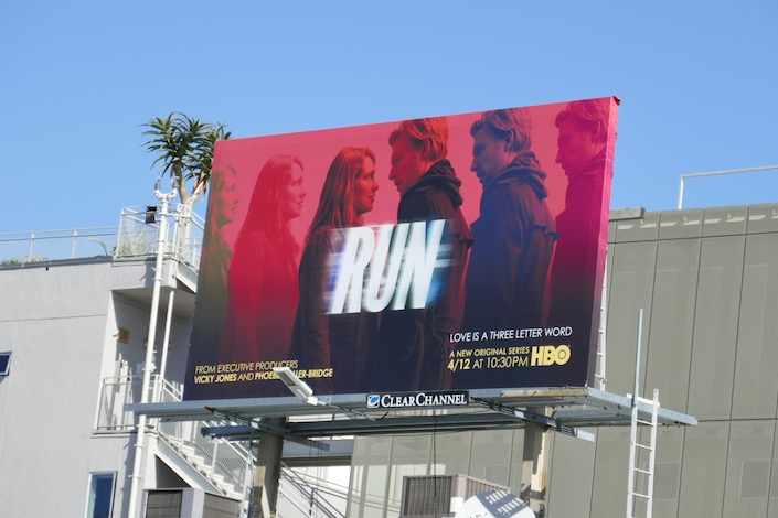 Run series launch billboard