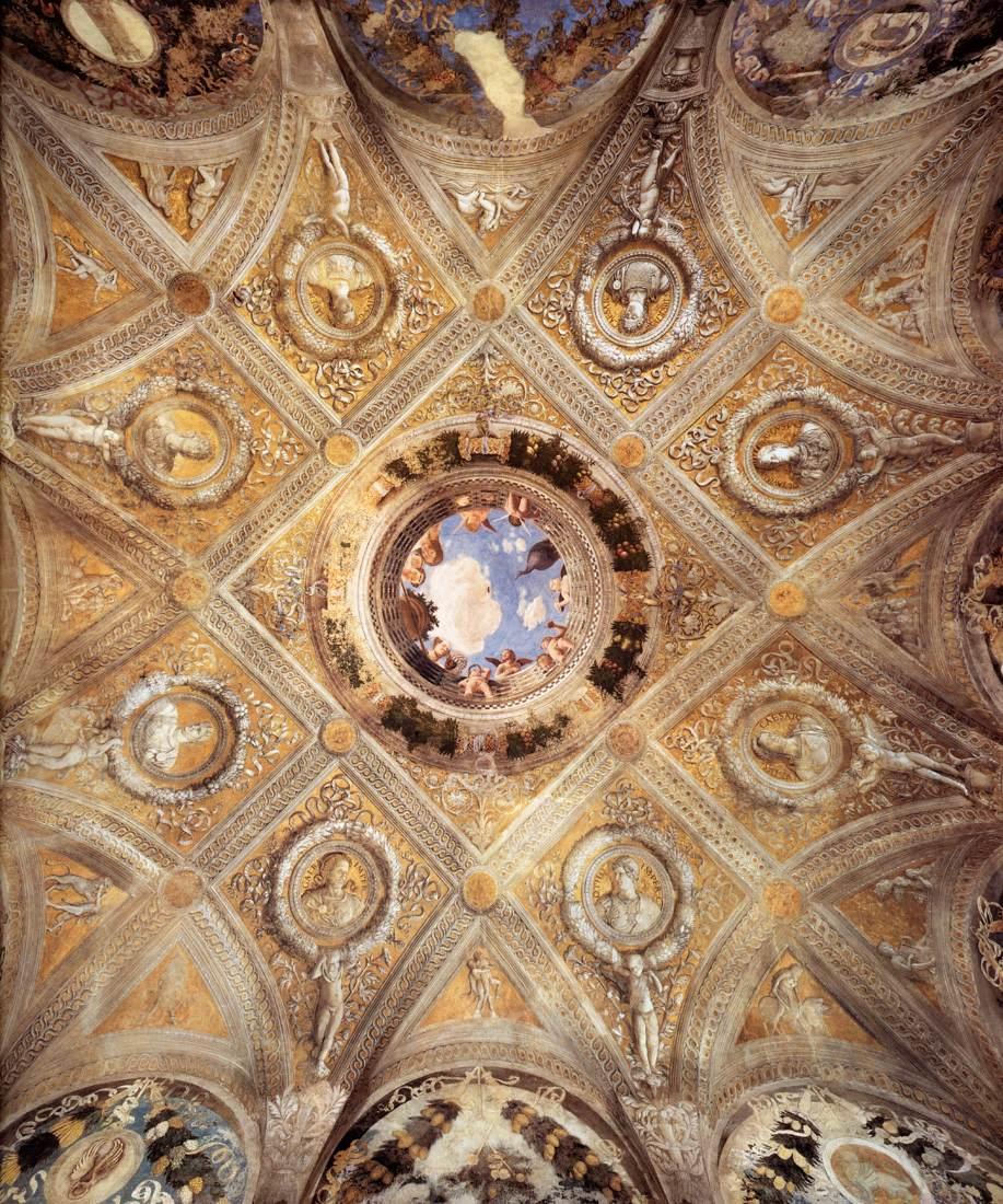 Mantegna in mantua la camera degli sposi for Mantegna camera degli sposi palazzo ducale