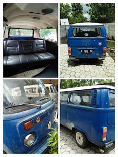 Dijual Mobil Antik VW Kombi Pitu Telu