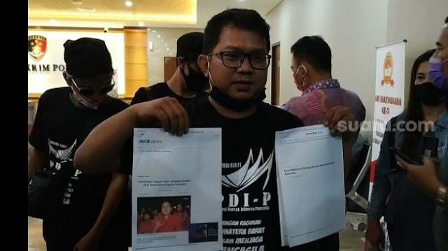 Pelapor Puan Sempat Debat Alot dengan Penyidik hingga Ditolak