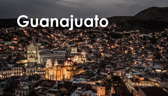Ciudad de Guanajuato Gto de Noche