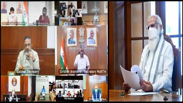प्रधानमंत्री नरेंद्र मोदी: सभी राज्यों को बिना किसी परेशानी के मिले ऑक्सीजन