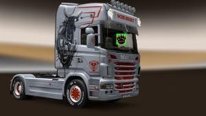 Scania Schubert Silver skin v1.0